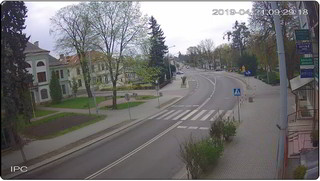 Kamera Smocza Jama, ulica Lwowska 64 - kierunek przejście graniczne w Hrebennem