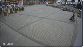 Rynek w Tomaszowie Lubelskim