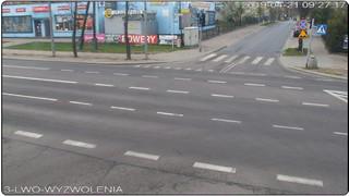 Skrzyżowanie ulic: Lwowska - Rolnicza - Wyzwolenia