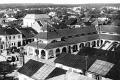 Widok na rynek z wieży straży pożarnej - 1938 r.
