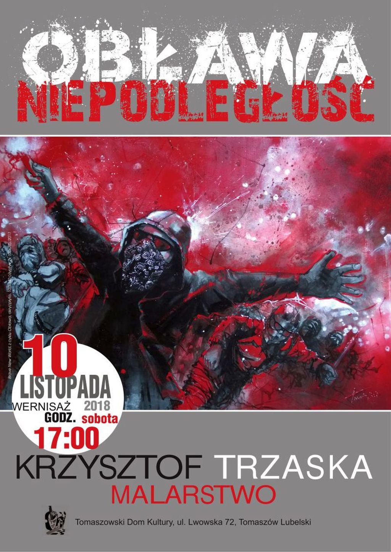 Wernisaż Krzysztofa Trzaski