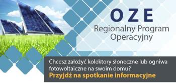 Spotkanie informacyjne w sprawie OZE